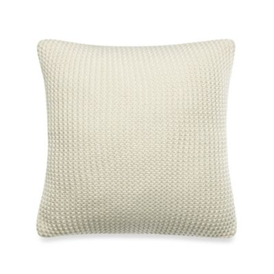 Nautica® Eden Glen 16-Inch Square Toss Pillow in Khaki