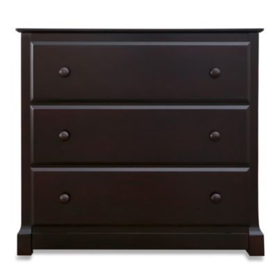 Nursery Smart® Darby 3-Drawer Dresser in Espresso