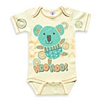 Clever Birds® Koala Bear Patchwork Animals Bodysuit