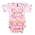 Clever Birds® Flowers and Butterfly Funtime Bodysuit
