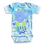 Clever Birds® Soccer Elephant Cut Outs Bodysuit
