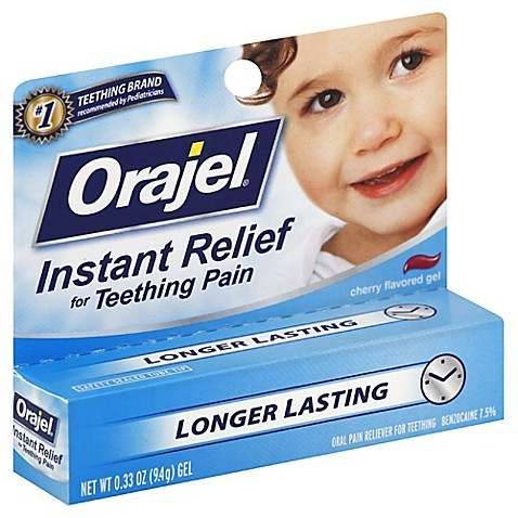 Buy Baby Orajel 174 33 Oz Teething Pain Gel In Cherry