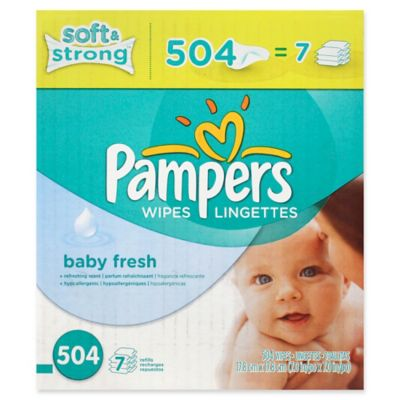 Baby Diapers Wipes