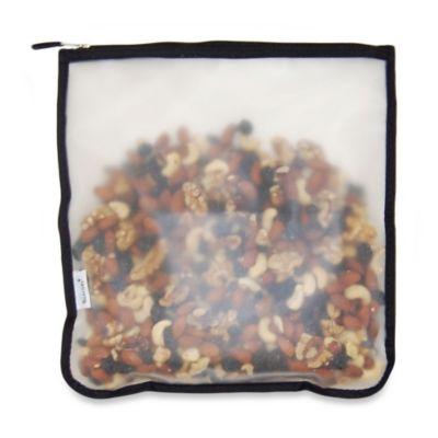 BlueAvocado® (re) Zip Large Snack Bag in Black Trim