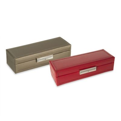 Wolf Designs® Queen's Court Safe Deposit Case in Bronze