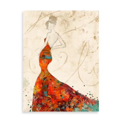 Fabrice de Villeneuve Studio Elegant Attire I Printed Wall Art