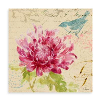 Fabrice de Villeneuve Studio Rose Fleurs I Wall Art