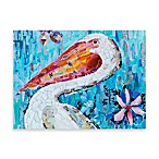 Pelican Charm Printed Canvas Wall Art