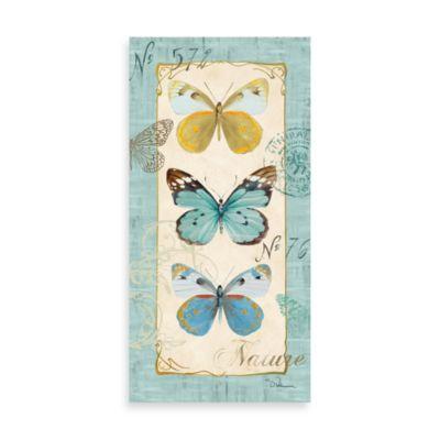 Fabrice de Villeneuve Studio Butterfly Study II Printed Canvas Wall Art