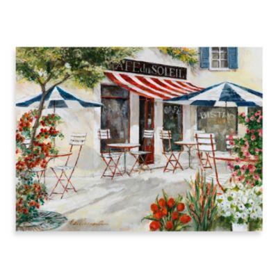 Fabrice de Villeneuve Studio Cafe du Soleil Printed Wall Art