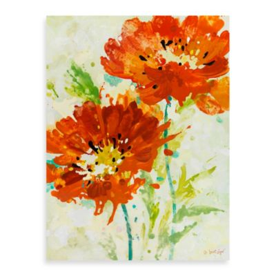Fabrice de Villeneuve Studio Spiced Poppies Wall Art