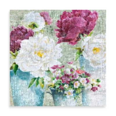 Fabrice de Villeneuve Studio Floral Treasures Printed Wall Art