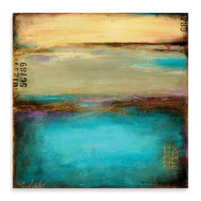 "Erin Ashley, ""Mystic Bay"" Canvas Wall Art"