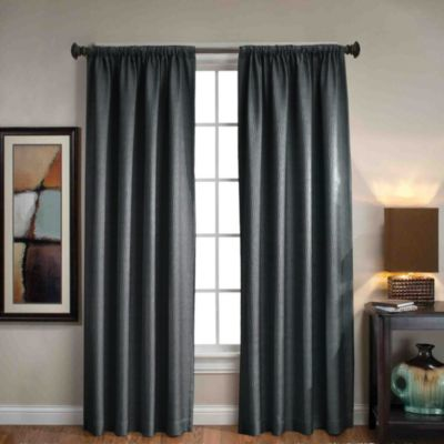 Sonoma Rod Pocket/Back Tab 95-Inch Window Curtain Panel in Navy