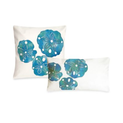 Liora Manne 12-Inch x 20-Inch Throw Pillow in Sand Dollar