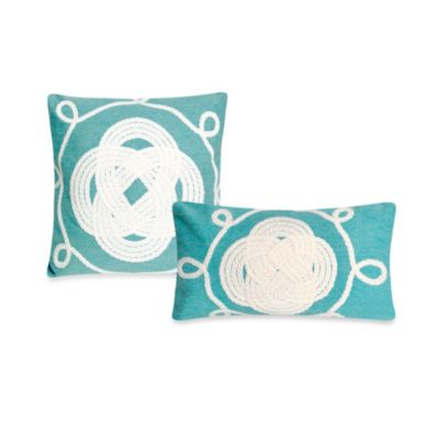 Liora Manne 12-Inch x 20-Inch Oblong Throw Pillow in Ornamental Knot