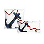 Liora Manne Anchor Decorative Pillow
