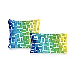 Liora Manne Ombre Tile Decorative Pillow