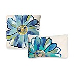 Liora Manne Outdoor Toss Pillow Collection in Daisy