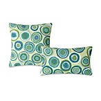 Liora Manne Outdoor Toss Pillow Collection in Puddle Dot
