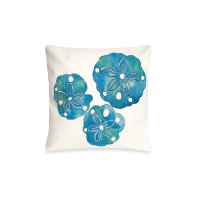Liora Manne 20-Inch Square Throw Pillow in Sand Dollar