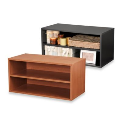 Foremost Cube Shelf in Black