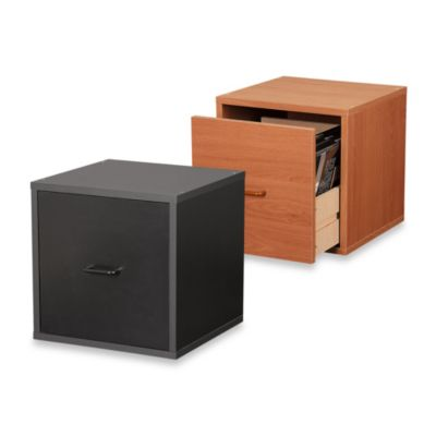 Foremost File Cube in Espresso