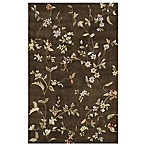 Rugs America Flora Rug in Mocha Brown