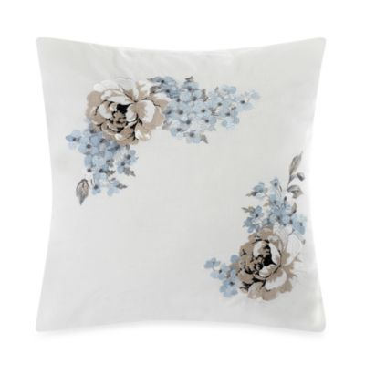 Laura Ashley® Tapestry Rose 18-Inch Square Toss Pillow