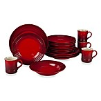 Le Creuset® 16-Piece Dinnerware Set in Cherry
