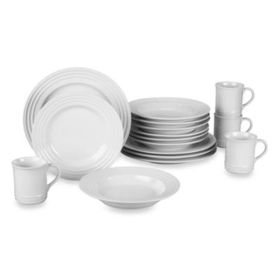 Le Creuset® 16-Piece Dinnerware Set in White