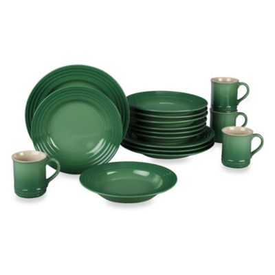 Le Creuset® 16-Piece Dinnerware Set in Fennel