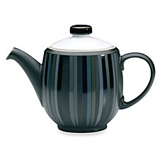 Denby Jet Stripes Large Teapot