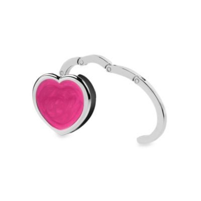 Conair® Travel Smart® Pink Heart Hanging Purse Hook