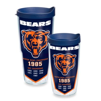 Tervis® NFL Chicago Bears Dynasty 16-Ounce Wrap Tumbler with Lid
