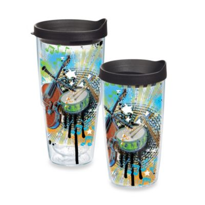 Tervis® Music Instruments 16–Ounce Wrap Tumbler with Lid
