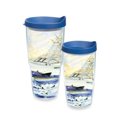 Tervis® Guy Harvey® Boat and Sailfish 16–Ounce Wrap Tumbler with Lid