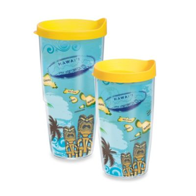 Tervis® Hawaiian Isle 16–Ounce Wrap Tumbler with Lid