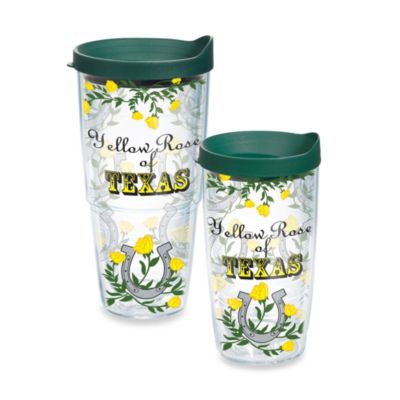 Tervis® Yellow Rose of Texas 16–Ounce Wrap Tumbler with Lid