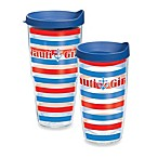 Tervis® Nautical Girl Stripes Wrap Tumbler with Lid