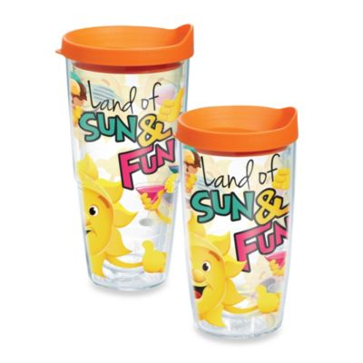 Tervis® Land of Sun & Fun 16–Ounce Wrap Tumbler with Lid
