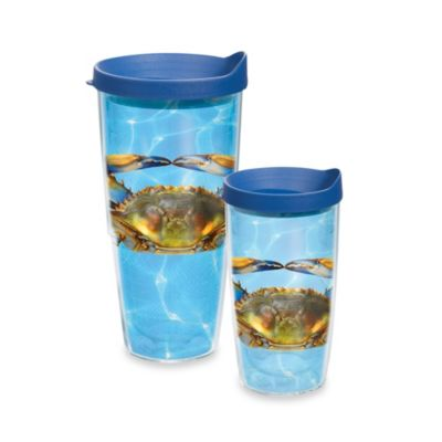 Tervis® Blue Crab 16–Ounce Wrap Tumbler with Lid