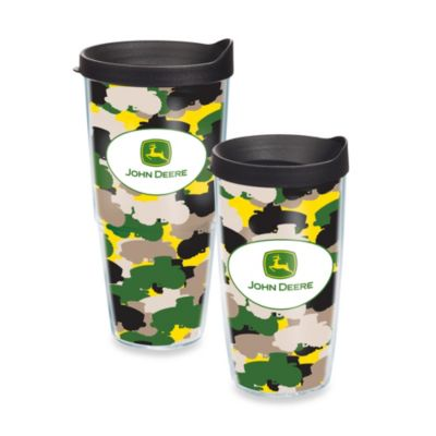 Tervis® John Deere Runs Like a Deere Camo Wrap Tumbler with Lid