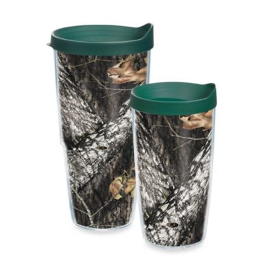 Tervis® Mossy Oak® Break-Up Infinity Wrap 16-Ounce Tumbler with Green Lid