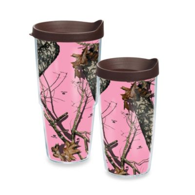 Tervis® Mossy Oak Pink Break-Up Wrap Tumbler with Lid