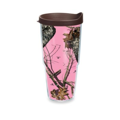 Tervis® Mossy Oak Pink Break-Up Wrap 24-Ounce Tumbler with Lid