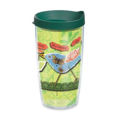 Tervis® Live Your Passion 16–Ounce Wrap Tumbler with Lid