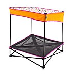 Quik Shade Small Instant Pet Shade in Polkadot with Elevated Mesh Bed