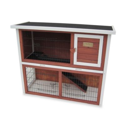 Advantek 'Loft' Rabbit Hutch in Auburn