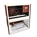 Advantek 'Sun Room' Rabbit Hutch in Auburn